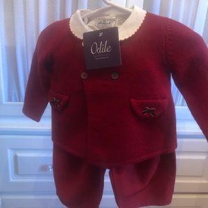Le Nouveau-Ne' baby outfit